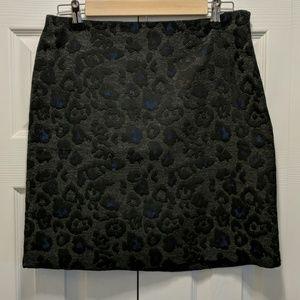 💥HP Style Staples💥leopard print skirt Sz 6